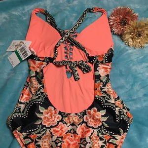 BECCA Swim - Becca Floral One Piece Swimsuit